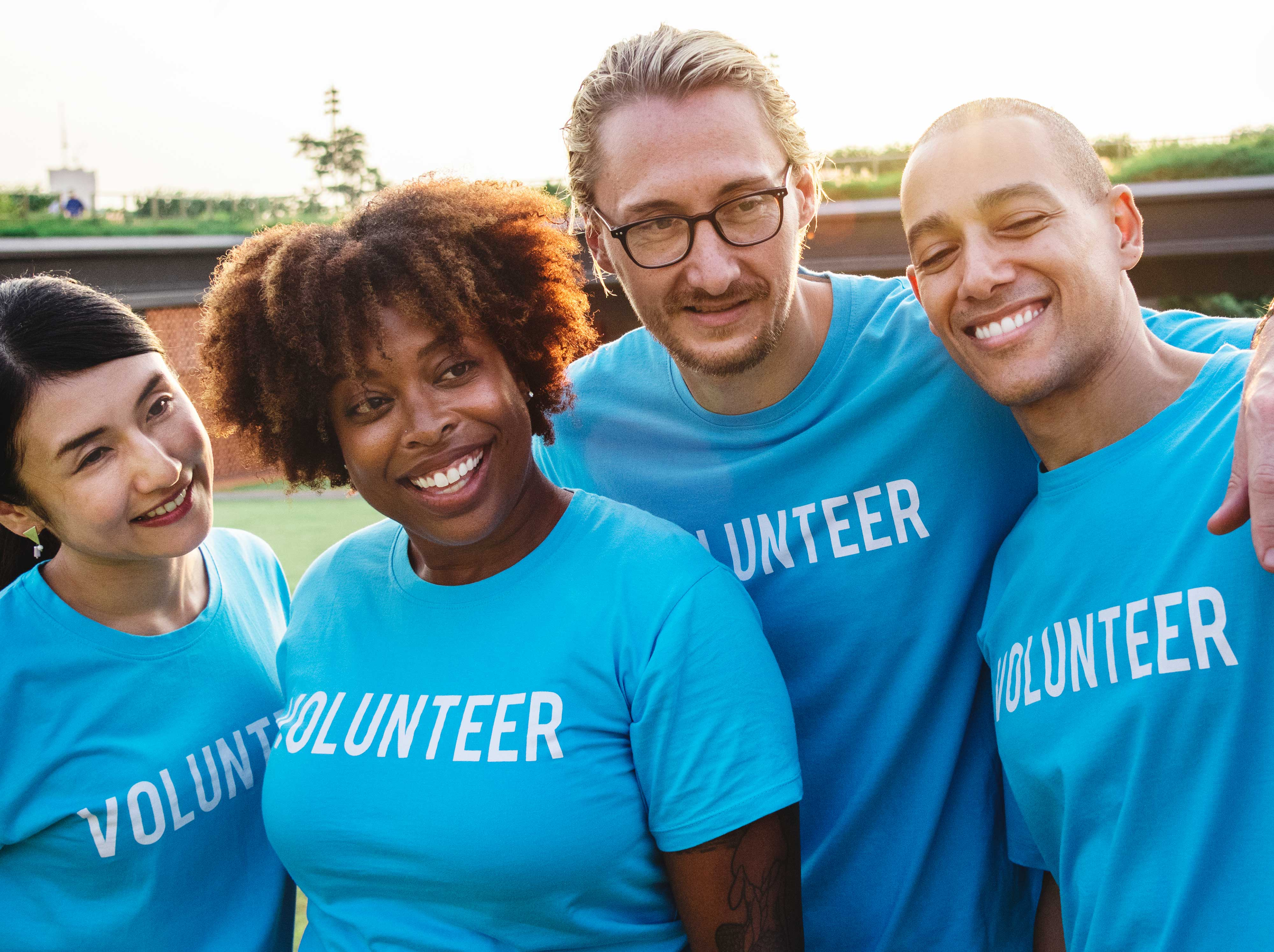 Volunteer and improve your English